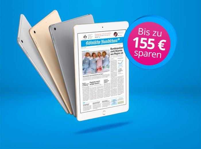 Zeitungsabo Mit Tablet