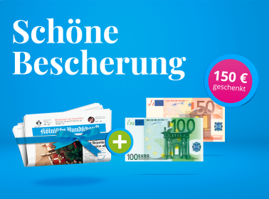 24 Monate lesen + 150 € Weihnachtsgeld